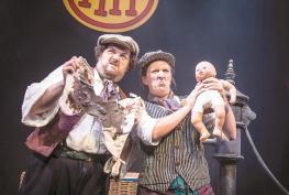 Hit show Horrible Histories returns to Windsor