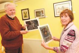 Wildlife art exhibition goes on show at Elizabeth House