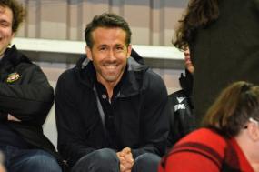 Ryan Reynolds and  Rob McElhenney watch Maidenhead United take on Wrexham