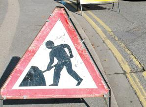 Borough roads to close for roadworks this week