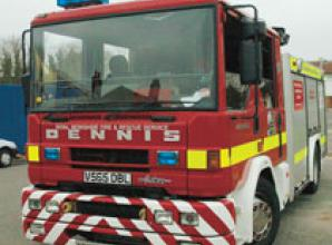 Firefighters called to house fire on Beaumont Close