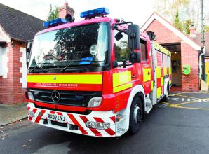 Firefighters spend three hours putting out fire at Slough Upton Park