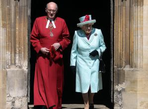In pictures: The Queen attends Easter service at Windsor Castle on her birthday
