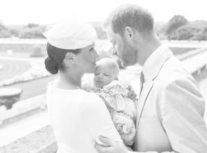 Prince Harry and Meghan's baby Archie christened at Windsor Castle