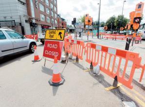 Contractors working to fix Queen Street traffic lights