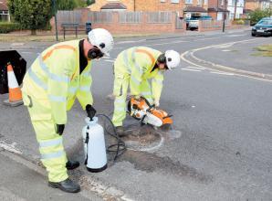 Royal Borough launches 24 working hour pothole fix pledge
