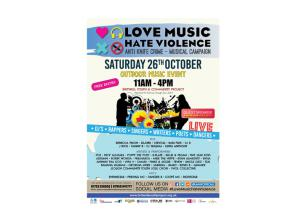 Artists to perform at Love Music Hate Violence event in Britwell