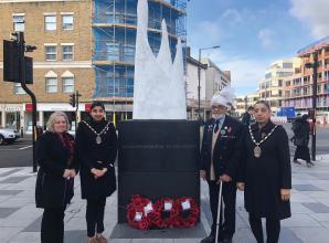 Hundreds pay their respects at Remembrance Sunday events across Slough