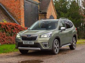 Subaru launches hybrid drive in Forester