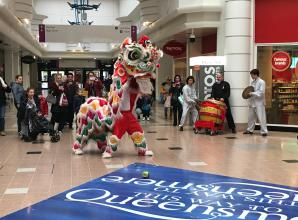 Chinese New Year celebrated at Queensmere Observatory shopping centre