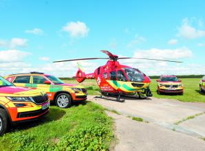 Thames Valley Air Ambulance calls for donations of personal protective equipment