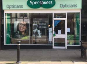 Team at Windsor Specsavers still providing urgent eye care and supporting key workers