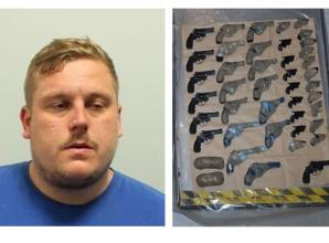 Langley man jailed for role in gun smuggling plot
