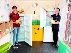 Charity opens 'community fridge' in Windsor to help those in need