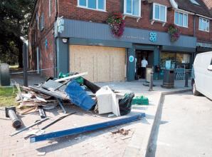 Ram-raiders target Co-op store in Iver Heath