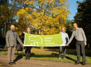 Slough parks victorious at Green Flag Awards