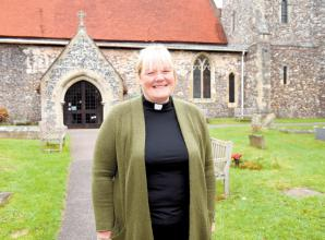 VIDEO: Second female vicar of St Peter's Church reflects on 'very strange' first year in the post