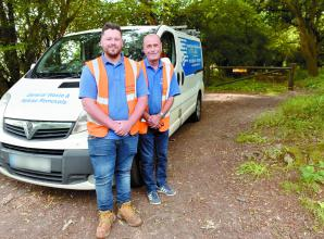 Burnham father and son praised for clearing fly-tipping at their own expense