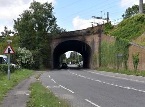 Police confirm three dead after car crashes into Taplow railway bridge
