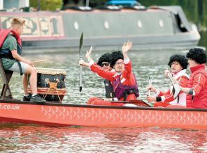 Dragon boats race down River Thames as Cookham Regatta returns