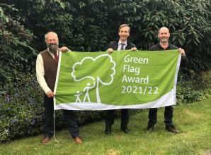 Three Slough parks win Green Flag awards