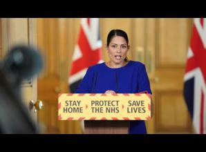 Priti Patel announces £800 fine for house party rule-breakers