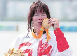 Chippington and Dunlevy are Paralympic gold medal winners