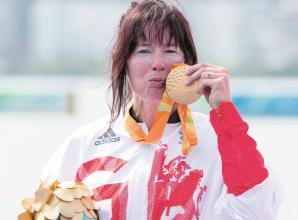Historic goldfor Maidenhead'sChippington at Paralympics in Rio