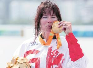 Rio's golden girl Chippington on shortlist for Get Berkshire Active award