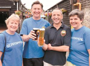 Marlow brewery reaches £300,000 fundraising mark in aid of Bucks charity