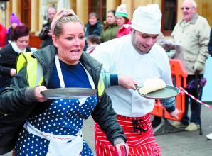 Entry open for Windsor & Eton Flippin' Pancake Challenge