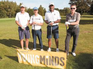 More than £5,000 is raised for Young Minds at golf club charity day