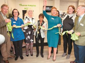In pictures: Thames Hospice opens new Home store