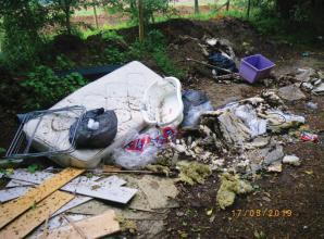 Slough man sentenced after owning up to fly-tipping in Burnham
