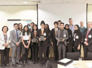 Burnham Grammar School students compete for awards at Lonza
