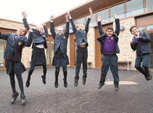 Braywick Court School pupils move into new school building