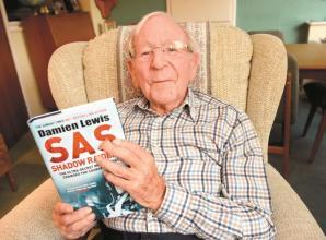 Windsor war veteran talks about his work at top secret agency during Second World War