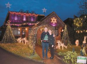 Marlow area: Shepherd family lights shine in Marlow Bottom for mental health