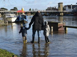 Flood alerts issued for areas around Maidenhead