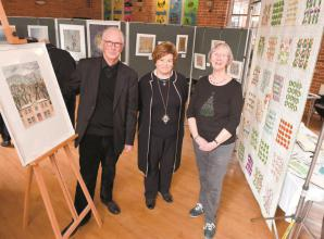 Marlow area news: Crafty sew-and-sews exhibit embroidery at All Saints Church
