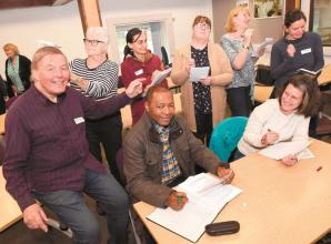 Burnham writer hosts creative writing taster session