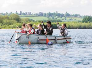 Maidenhead Sea Scouts use Baylis grant to help buy dragon boats