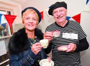 Attendees enjoy french inspired coffee morning in Twyford