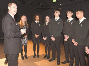 Earl of Wessex visits Norden Farm to mark Holocaust Memorial Day