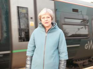 Maidenhead MP Theresa May calls for more fast trains