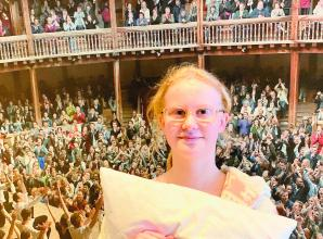 Holyport student performs at the Globe
