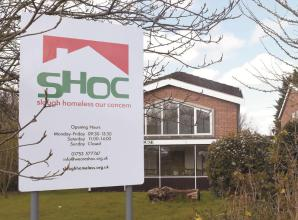 Slough Homeless Our Concern closes to comply with social distancing measures
