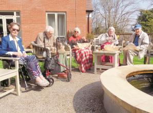 Care homes keep residents happy in isolation