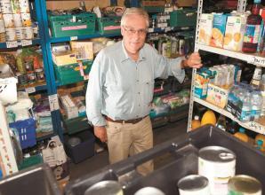 Louis Baylis Trust donates £3,000 to Royal Borough's foodbanks