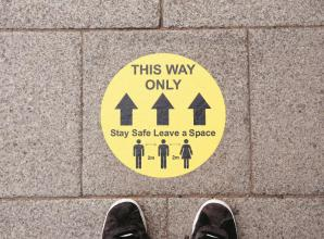 Marlow town centre launches one-way system on pavements